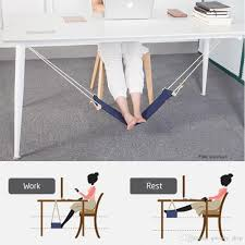 2018 easy disassemble travel foot rest hammock relieve foot