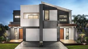 Home Design For Narrow Block Duplex Designs Dual Occupancy Makes Most Of Sydney Blocks Daily