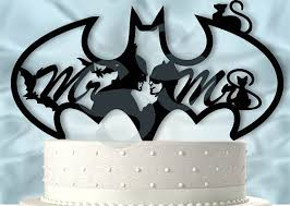 Batman Wedding Ring by Mr And Mrs Batman And Catwoman Wedding Cake Topper Holy Crap We