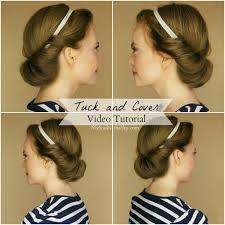 headband roll roll up hair in headband archives sue