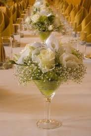 Martini Glass Vase Flower Arrangement Elegant Tall Flower Arrangements Martini Vases Martini Vases