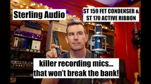 Sterling Meme - sterling audio st159 st170 microphones demo by pete thorn youtube