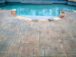 pool deck gallery stampco amazing decorative conrete