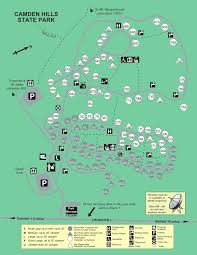 map of camden maine cground maps state parks and lands maine dacf