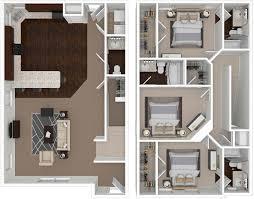 csu building floor plans floorplans outpost fort collins csu 2 3 4 u0026 5 bedroom layouts