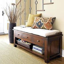 Southport Shoe Storage Bench With Cushion Hall Benches With Storage U2013 Dihuniversity Com