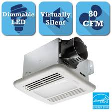 how many cfm for bathroom fan delta breez greenbuilder series 80 cfm ceiling exhaust bath fan with