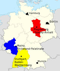 map of germany with states and capitals why refugee crisis could hurt merkel in state elections the local