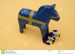 swedish dala horse stock photo image 35201430