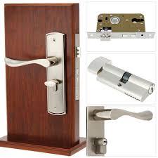 Bathroom Door Key by Door Handles Aluminium Alloy Handle Modern Interior Bathroom