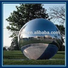 garden ornaments metal sculpture large hollow metal sphere