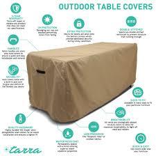 Rectangular Patio Furniture Covers - rectangular patio table cover patio table covers
