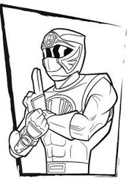 power rangers red turbo coloring book coloring