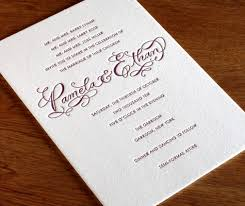 Personal Wedding Invitation Cards Wordings Joint Host Wording For Wedding Invitations Letterpress Wedding