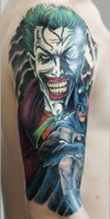 fantasy joker tattoo design photos pictures and sketches