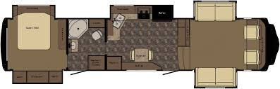 5th wheel with living room in front redwood 38fl front living room fifth wheel floor plan fifth wheel