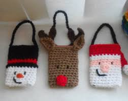 gift card holder and ornament set crochet pattern