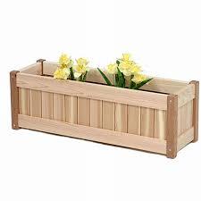 wood planter box design modern garden how to make a wood planter