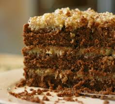 german chocolate cake cake paper party