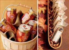 fall wedding favor ideas free wedding autumn wedding favorsdeckss