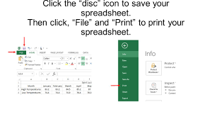Excel Spreadsheet To Graph How To Create A Line Graph Using Excel Spreadsheet Ppt Download