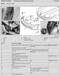 removing the front bumper mercedes benz r170 slk mercedes benz