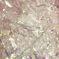 shredded mylar iridescent shred