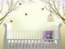 Nursery Wall Decoration Ideas Remarkable Wall Stickers For Baby Nursery Decor Ideas