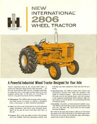 1964 ih 2806 industrial international harvester advertising