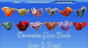 decorative glass bowls by tnbrat on deviantart