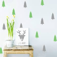 christmas tree wall decals christmas lights decoration 2016 christmas tree plant design removable wall decals for festival holiday decors wall poster stencils lv043
