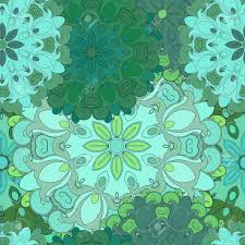 asian wrapping paper emerald seamless pattern for print or textil japanese