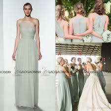 amsale bridesmaid 2017 amsale chiffon boho bridesmaid