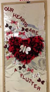 Valentine S Day Classroom Decorations Ideas by Backyards Valentines Classroom Door Decoration Ideas Design
