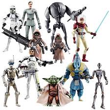 star wars clone wars action figures wave 7 hasbro star wars