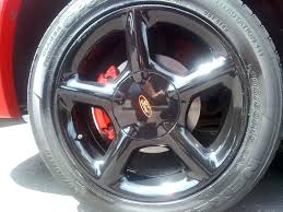 painting car rims chrome matte black diy