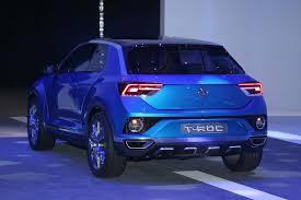 volkswagen t roc concept grabs golf gtd u0027s turbodiesel motor trend