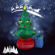 Inflatable Christmas Decorations Outdoor Cheap - online get cheap inflatable christmas tree indoor outdoor trees