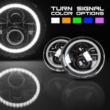 jeep lights optix helios series halos jeep headlights optix autolabs