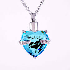 necklace urns for ashes with me always laser engraved urn necklace cremation jewelry for