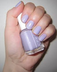 the beauty of life mani of the week essie nail polish in lilacism