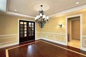 chair rail in dining room home design