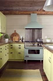Olive Green Kitchen Cabinets Green Kitchen Cabinets Country Kitchen Valspar La Fonda