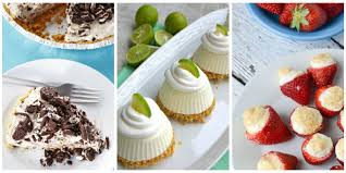 57 easy summer desserts best recipes for frozen summer dessert ideas