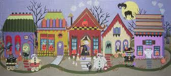 the nimble needle atlanta ga halloween village