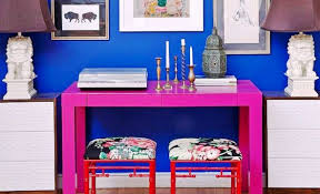 Colorful Furniture by Colorful Accent Furniture An Enduring Interior Design Trend