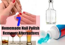 homemade nail polish remover alternatives homemade nail polish