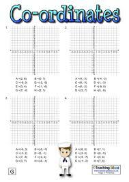 fun coordinates worksheets ks2 ordered pairs and coordinate