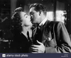 joan crawford u0026 van heflin possessed 1947 stock photo royalty