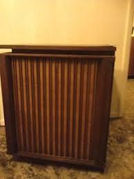 Tambour Door Cabinet 2 Mid Century Tambour Door Cabinets Vintage Barzilay Speaker
